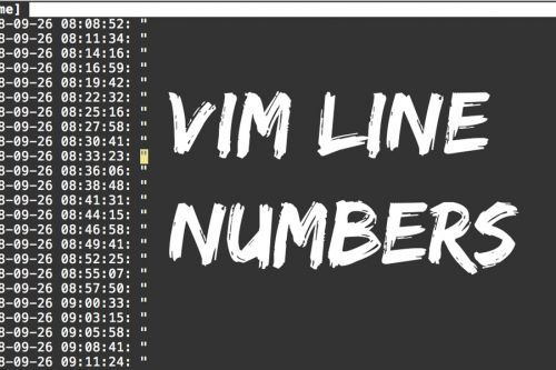 Vim tip: The best line number config (current + relative line numbers) Thumbnail image